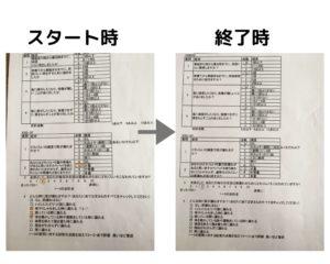 排尿質問表写真